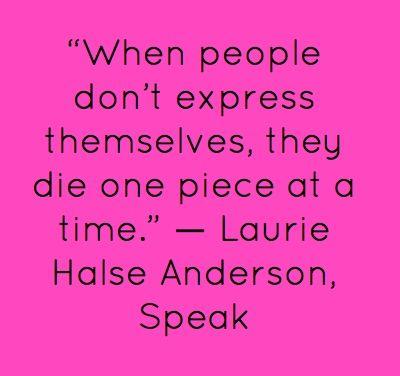 Speak quotes | Quotes, Speak quotes, Author quotes