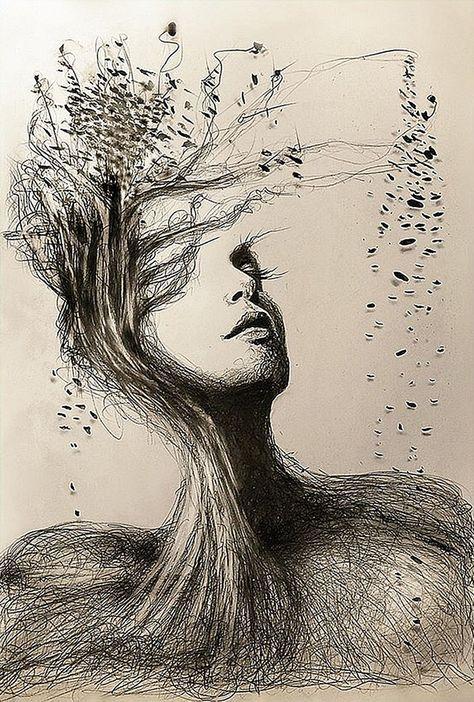 Gina Iacob Erweckt In Ihren Zeichnungen Mutter Natur Zum Leben Und