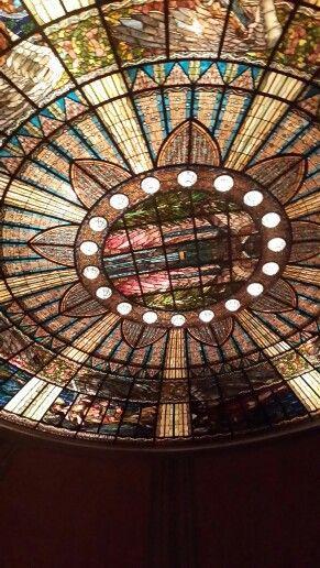 Cúpula del Palacio de Bellas Artes #Ballet #Opera #Places #TravelTip