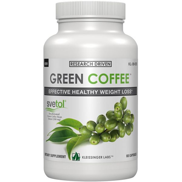 Green Coffee Bean Kleissinger Labs Green Coffee Bean Extract