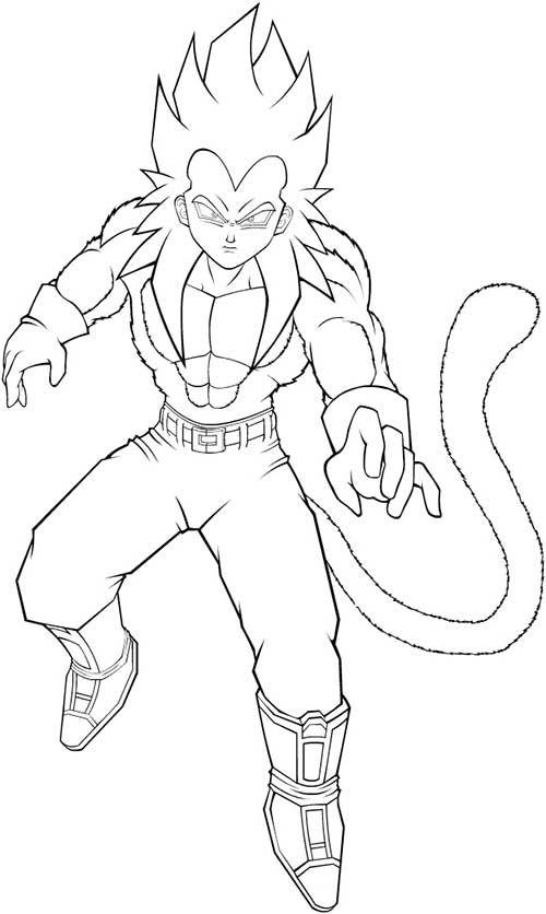 50 Desenhos do Goku para Colorir (Anime Dragon Ball Z) | desenhos ...