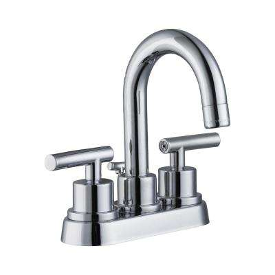 3 Chrome 4 In Centerset Bathroom Sink Faucets Bathroom Sink Faucets The Home Depot High Arc Bathroom Faucet Bathroom Faucets Sink Faucets