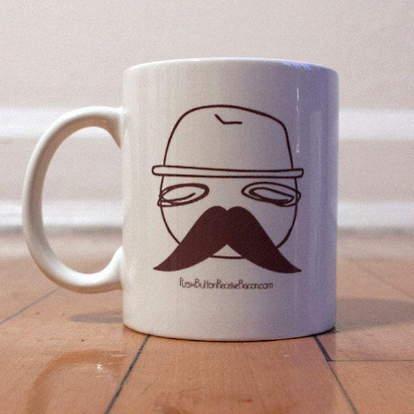 Movember Coffee Mug par withaydrawings sur Etsy