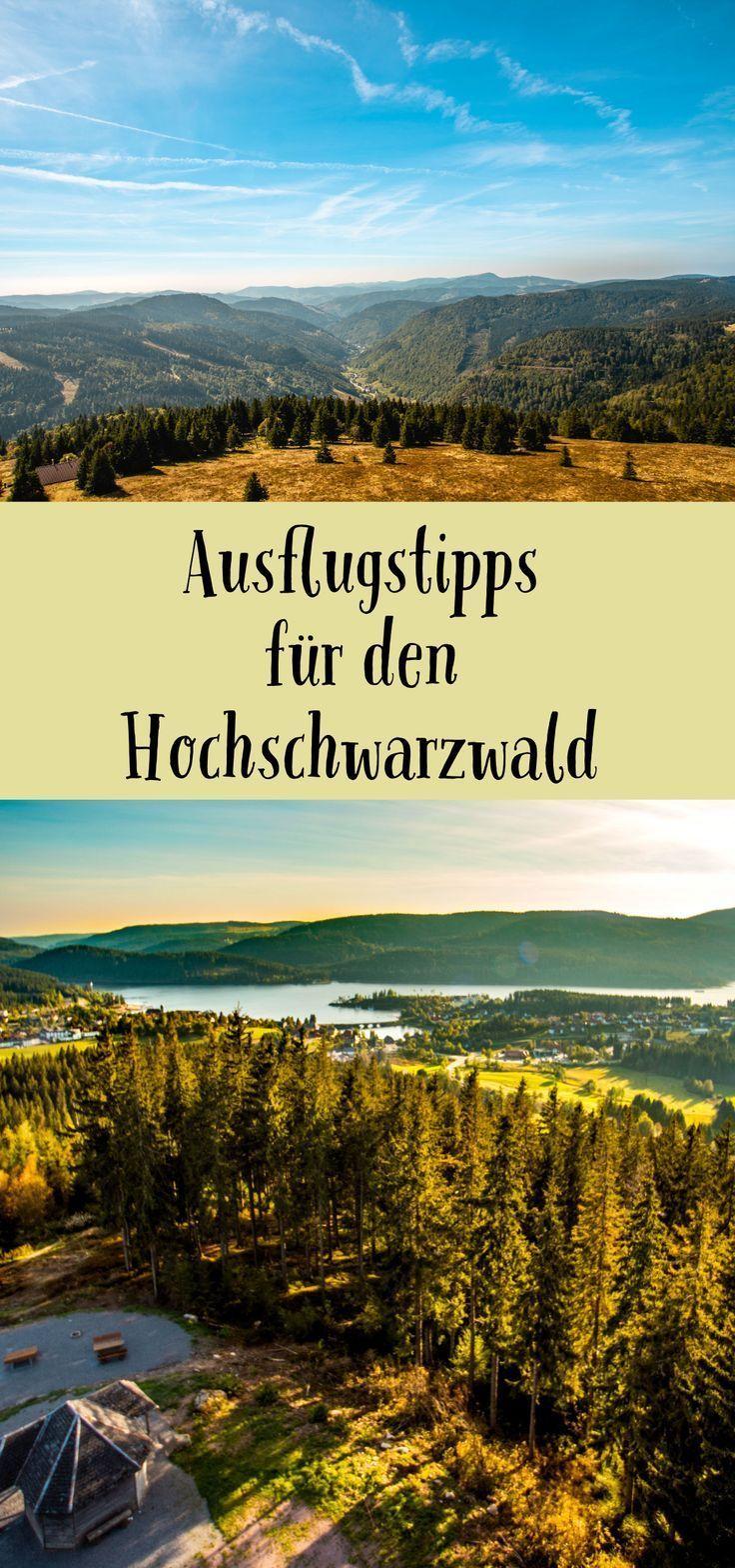 Ausflugstipps für den Hochschwarzwald in BadenWürttemberg