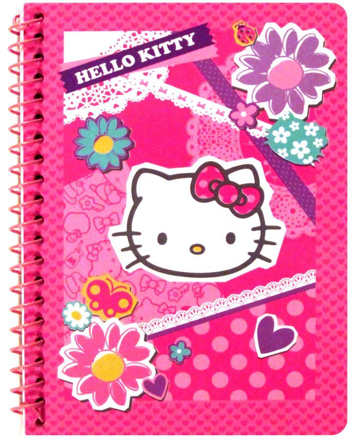 Sanrio Hello Kitty Flowers & Lace Mini Notebook Hello