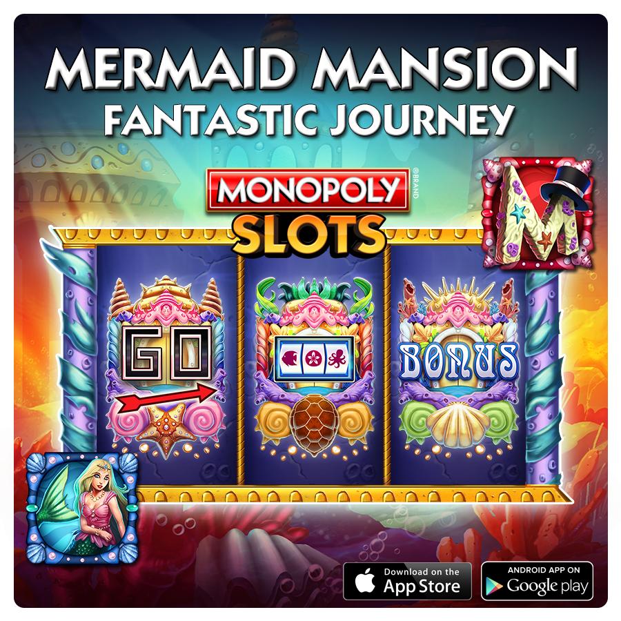 Mermaid Mansion Slot Fantastic Journey Suite. 3x5 Layout