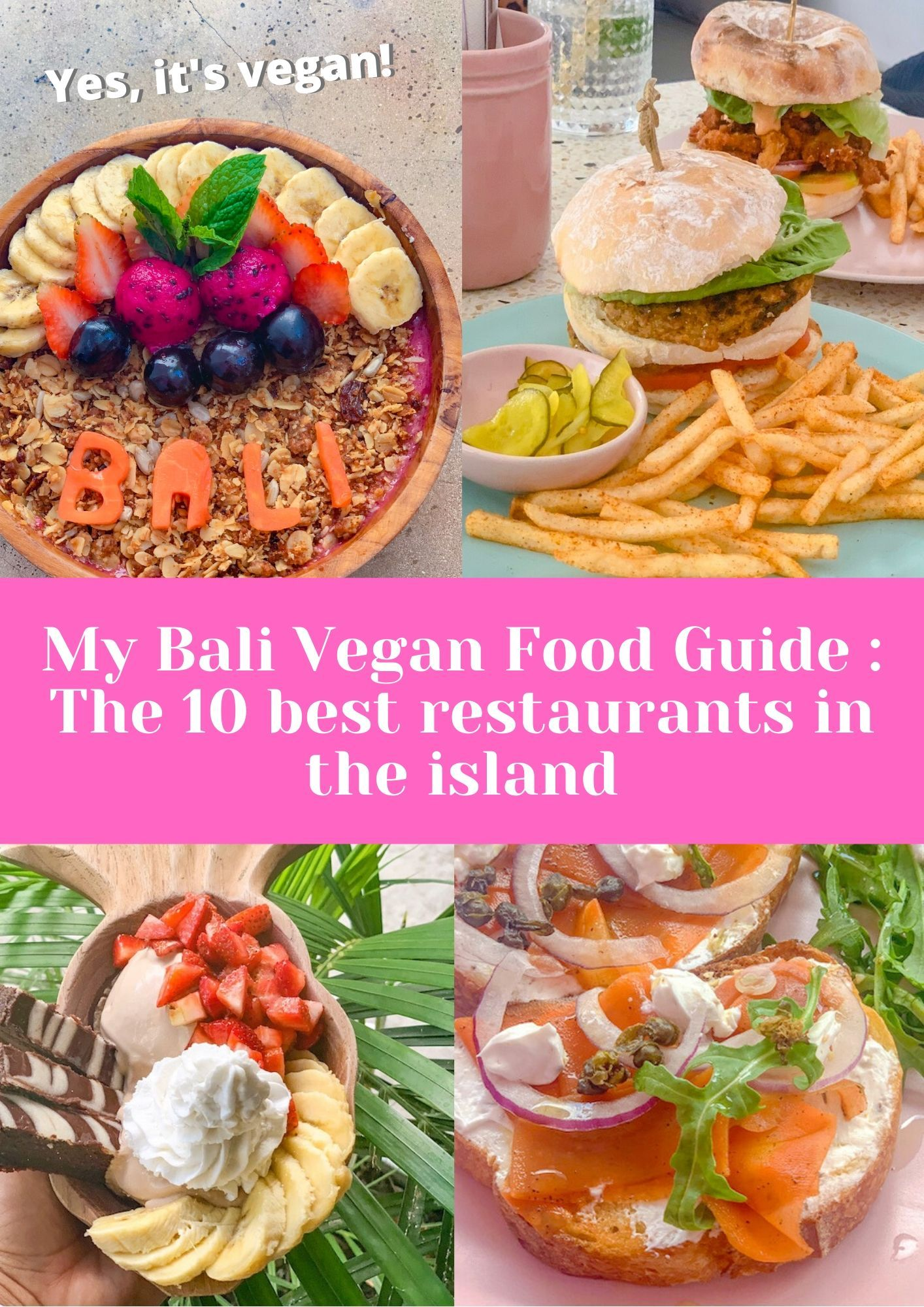 My Bali Vegan Food Guide The 10 Best Restaurants In The Island In 2020 Food Guide Food Vegan Travel