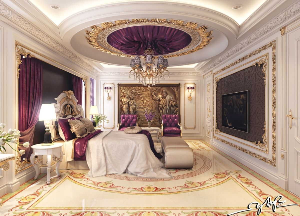 luxury bedroom interior design | 8 Luxury Bedrooms In Detail | Luxurious bedrooms, Luxury ...