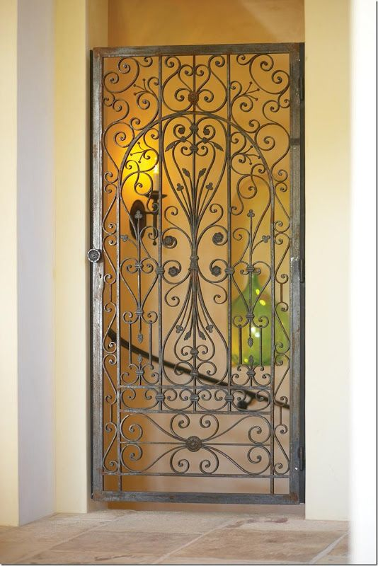 La Bastide A French Beauty California Style Wrought Iron Gates