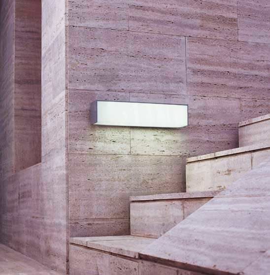 Exterior wall light - NAWA by Antoni Arola - METALARTE