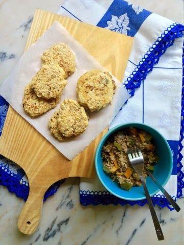 Edu's Pantry: BBolinhos de Quinoa e Grão /
