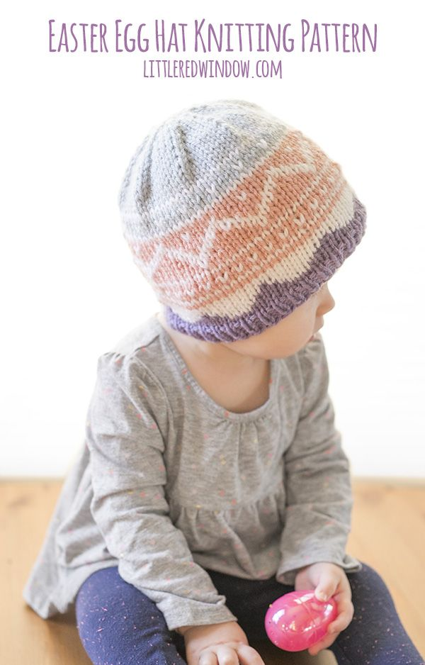 Fair Isle Easter Egg Hat Knitting Pattern | Fair isles, Knitting ...