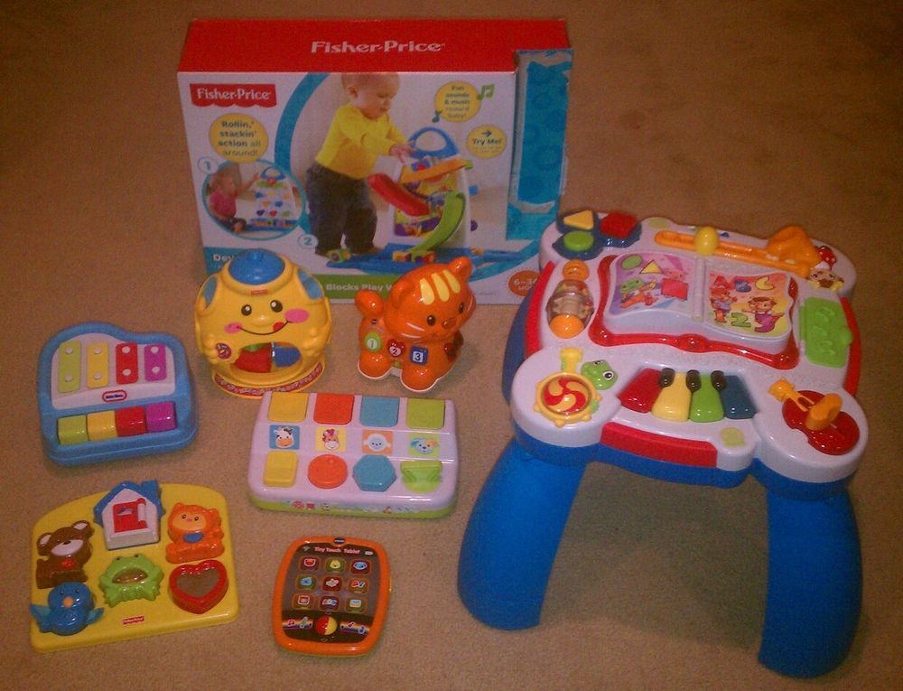 Baby Toddler Learning Toy Lot Fisher Price Leapfrog Vtech Toys