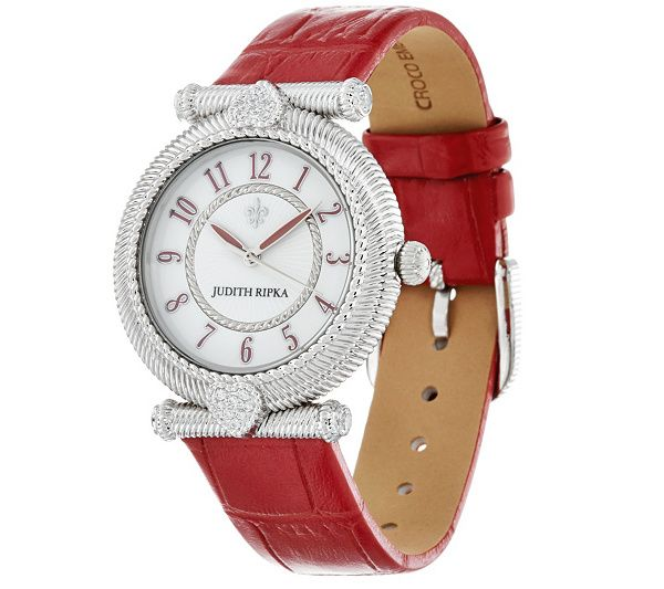 f7523977832 Give everyday an elegant touch with this Judith Ripka watch. QVC.com