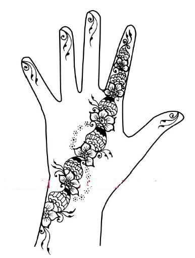 henna hand templates google search need to do pinterest