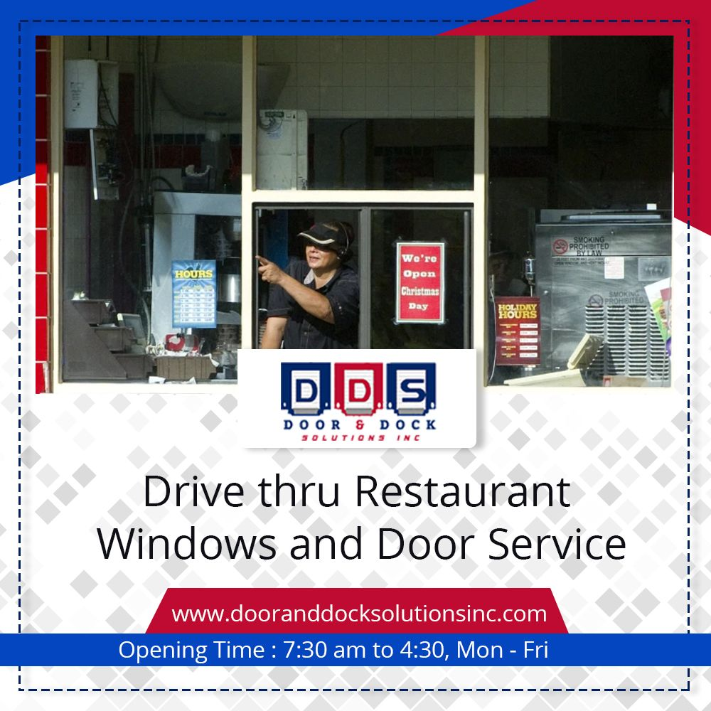Drive thru restaurant windows in 2020 Window repair