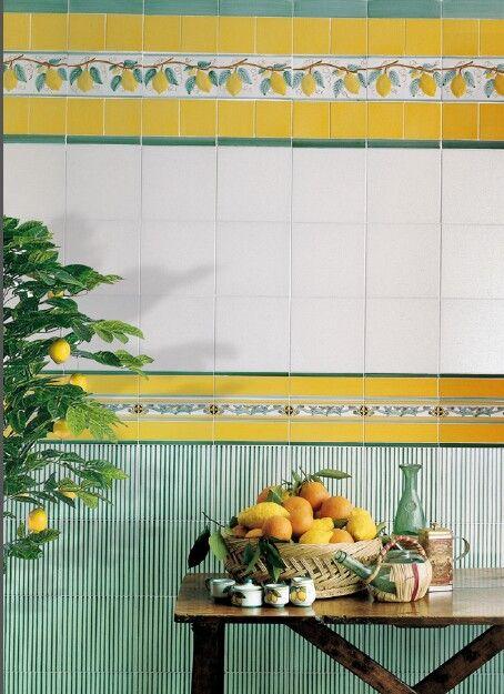 Tante idee per la tua cucina vietri ceramic group for Realizza la tua cucina