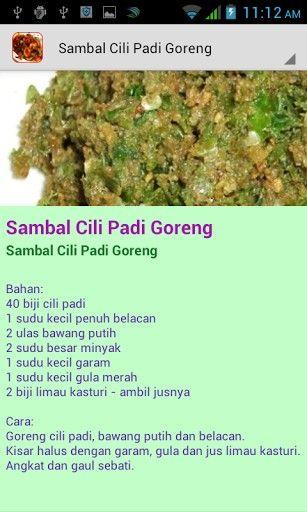 Resepi Masakan Kampung For Android Malaysian Food Traditional Food Healthy Eating