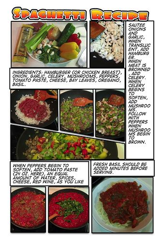 Spaghetti recipe food ummmmm pinterest delicious food recipes another comic life experiment any suggestions on the recipe i love this cooking recipes recipes food cook cooking recipe forumfinder Gallery