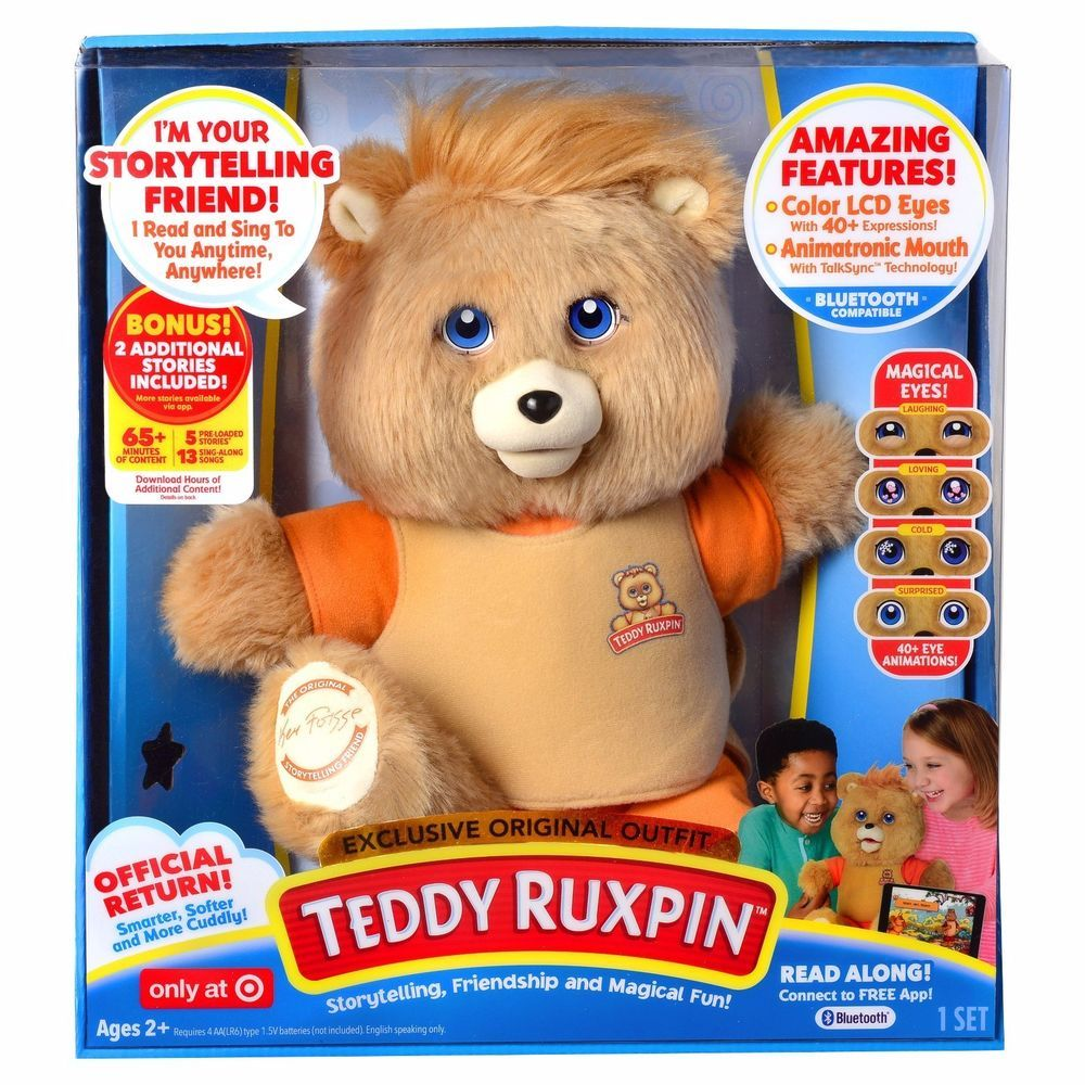Teddy Ruxpin (Target Exclusive) WickedCoolToys Ruxpin
