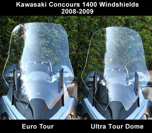 Cee Baileys | Kawasaki Concours 14000 Windshield 2008-2009