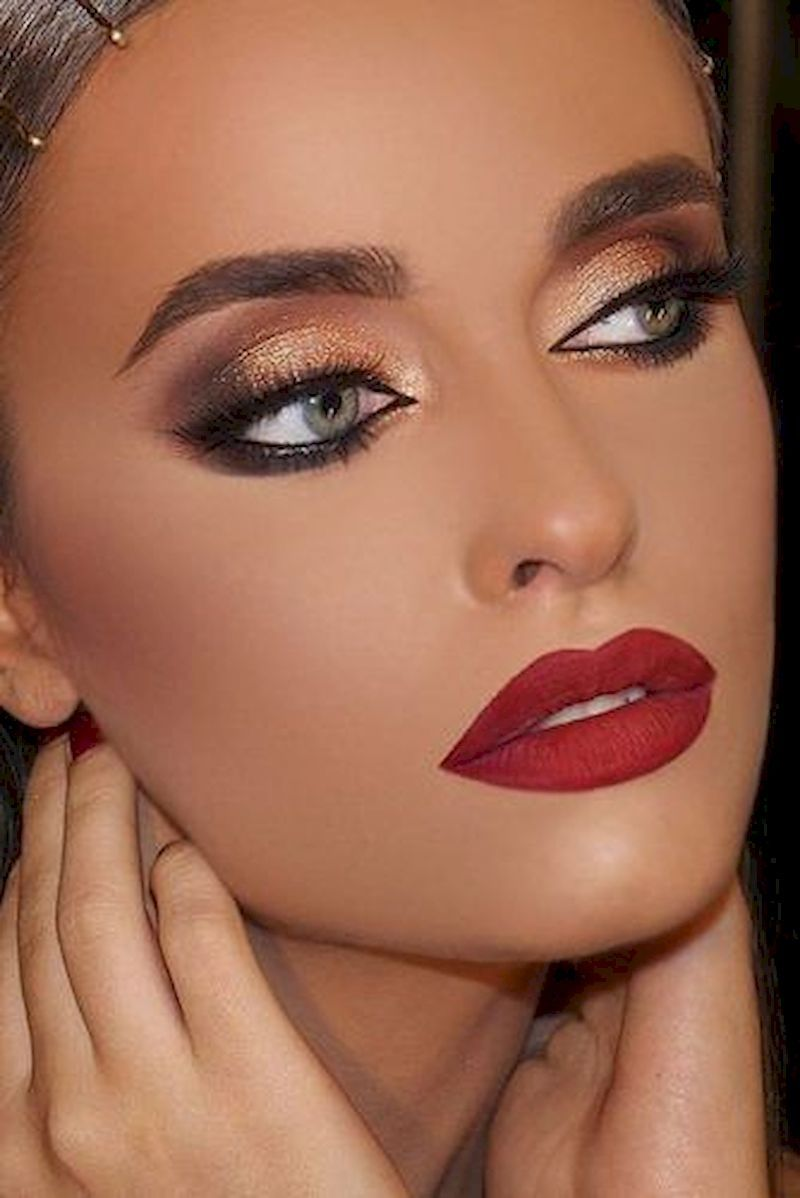 Pin By Robert Lyons On Bed Time Red Lipstick Makeup Red Lip