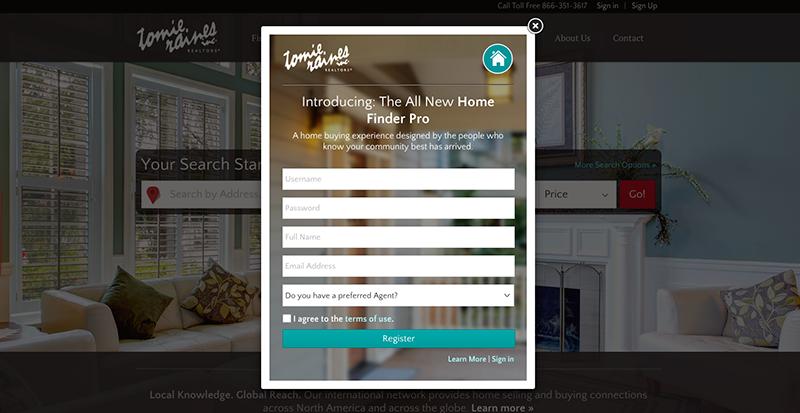 Pin By Chloe Hsu On Pop Up Screen Design Home Finder Pop Up Screens Create Website