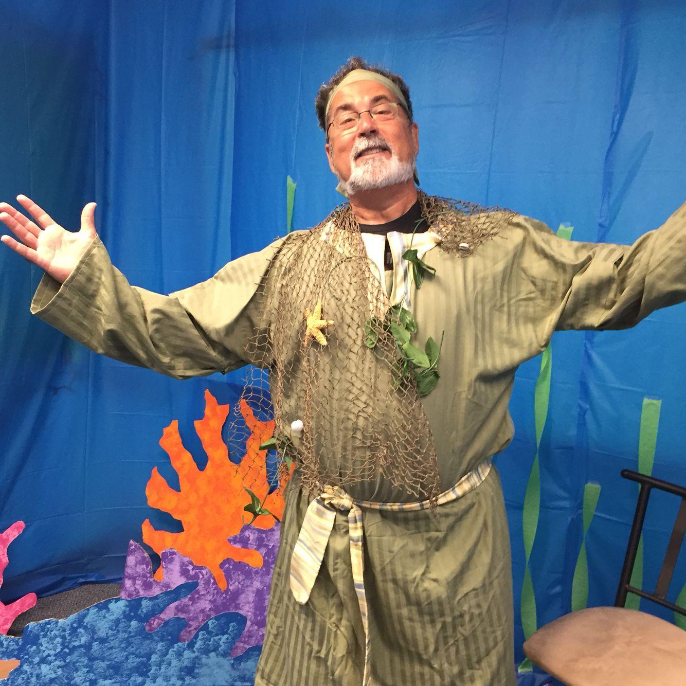 Summer Seaquest VBS Costumes  - Jonah