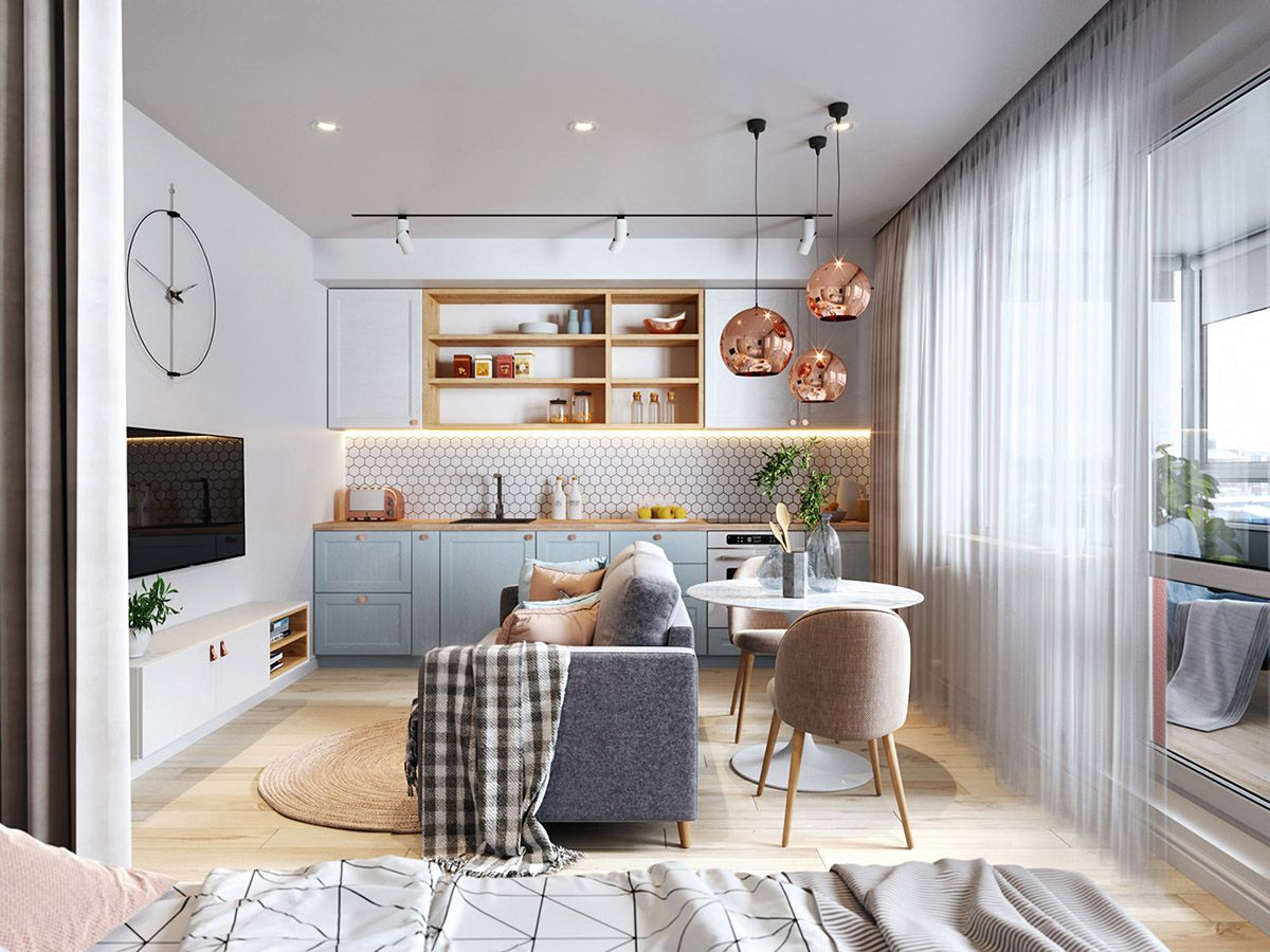 3 Small But Super Stylish Apartments Small Apartment Interior
