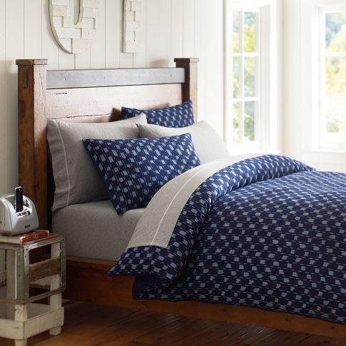 great bedding for guys! PB / TEEN STORE Pinterest Indigo