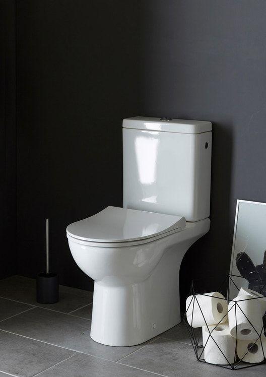 Pack Wc A Poser Sortie Double Sans Bride Modulo Sensea Avec Images Wc A Poser Pack Wc Lave Main Toilette