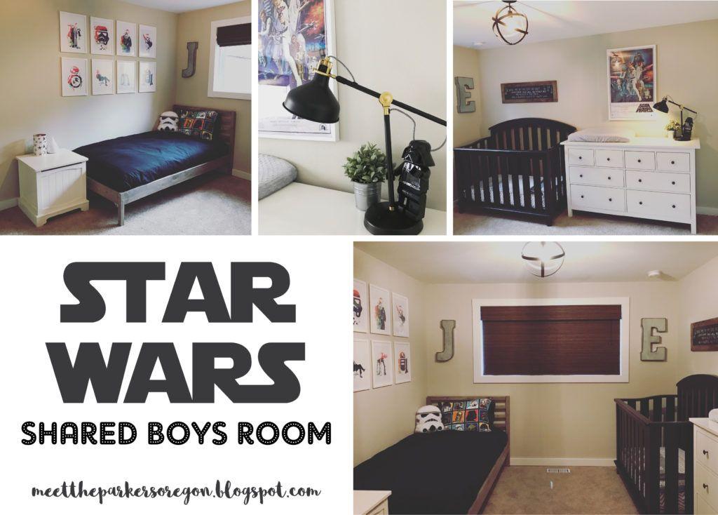 Star Wars Shared Boys Room