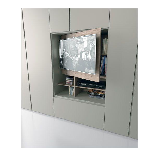 Armadio porta tv, armadio moderno, armadio Grafik | Caccaro ...