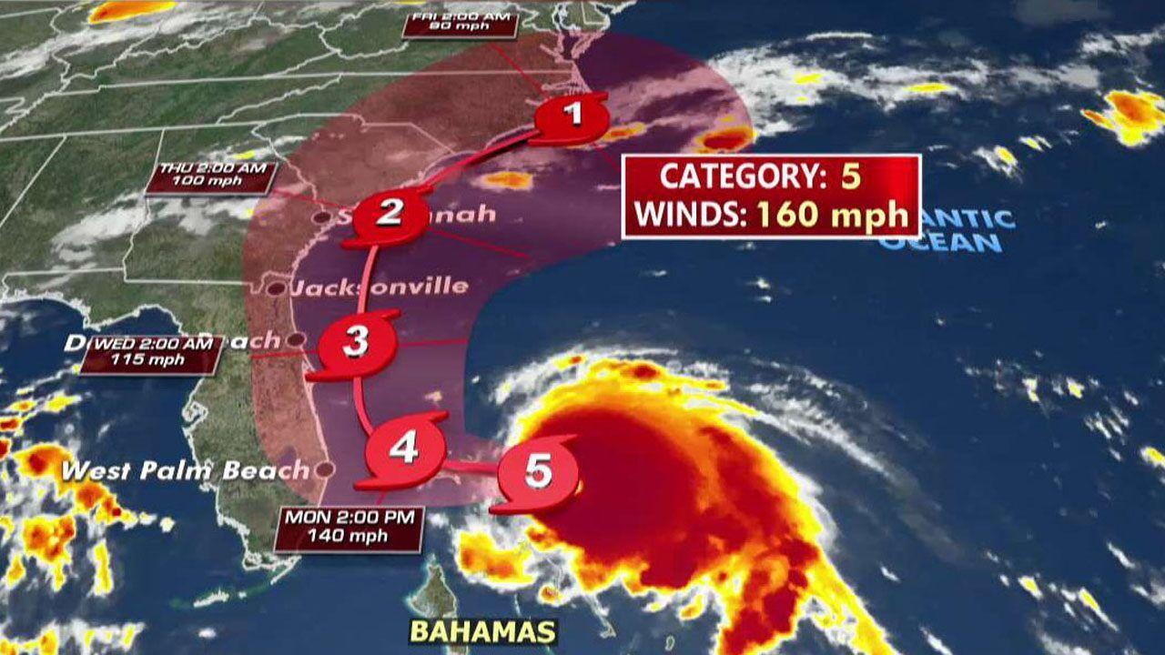 Hurricane Dorian Category 5 Storm Makes Landfall In Bahamas With 185 Mph Winds Hurricane Bahamas Bahamas Hurricane