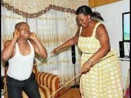 Video wife beating husband Jealous husband