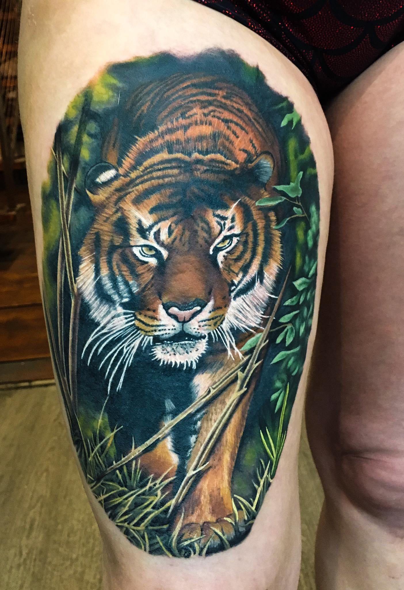 Tattoo Artist In Cheltenham Jen Sterry No Regrets Realism Tattoo Tattoo Artists Animal Tattoos