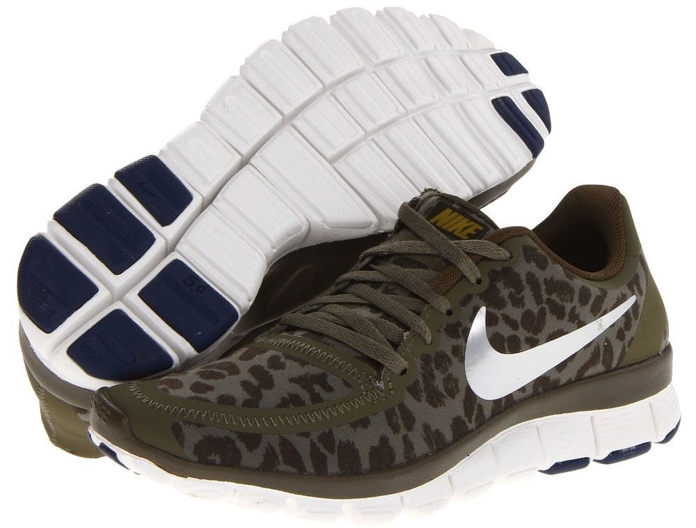 1f7965a43e09 WOMENS NIKE FREE 5.0 V4 LEOPARD CHEETAH PRINT SHOES~SOLD OUT EVERYWHERE!!!