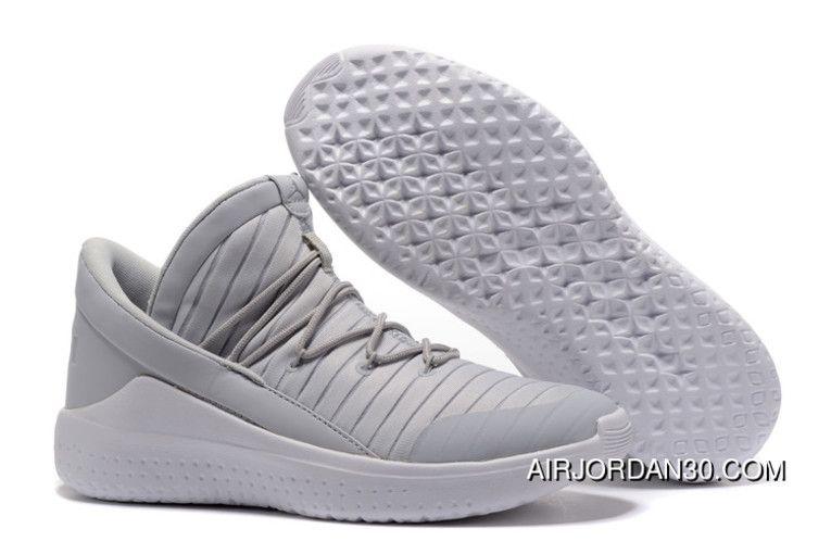 12fd41de62d Jordan Flight Luxe Cool Grey White New Style in 2019   sneakers ...