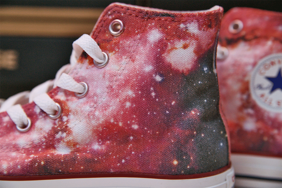 7533a0e97ad5 space. stars. sky. DESIGN YOUR OWN PRINT ON SNEAKERS at wannashoe ...
