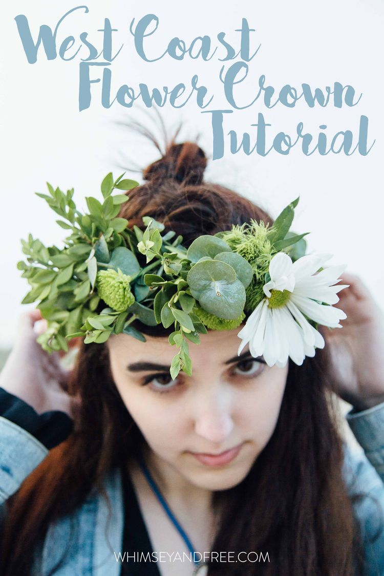 Whimsey free beauty talk pinterest flower crown tutorial whimsey free flower crown izmirmasajfo