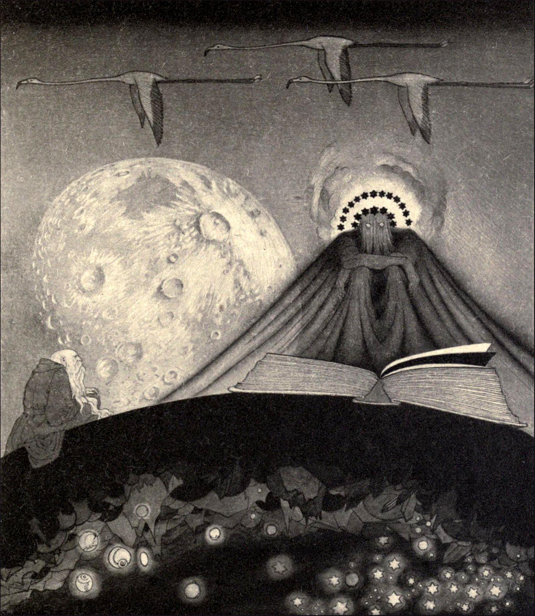 Sidney Sime Illustrations Gods of Pegana Lord dunsany
