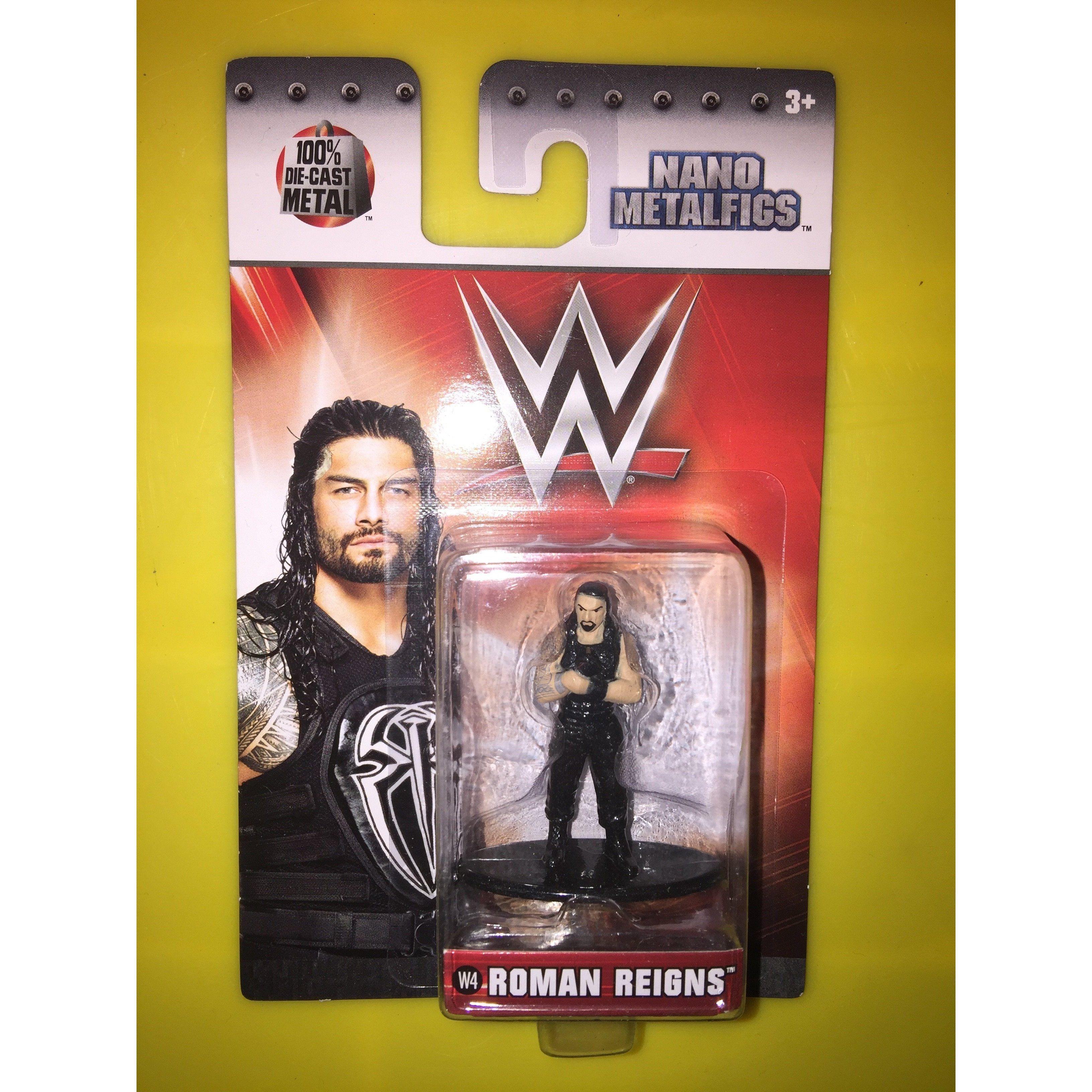 WWE Nano Metalfigs Roman Reigns figure