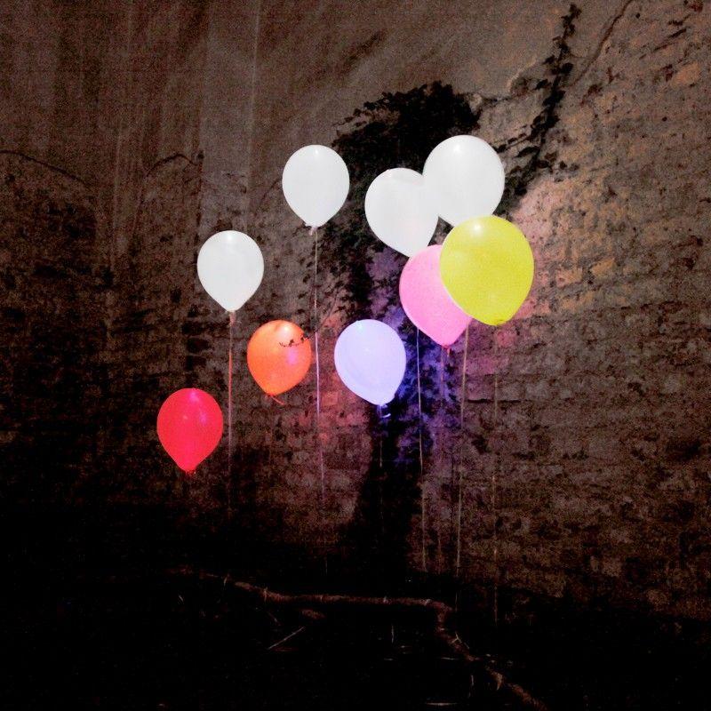 Leuchtende LED Luftballons 15er Set