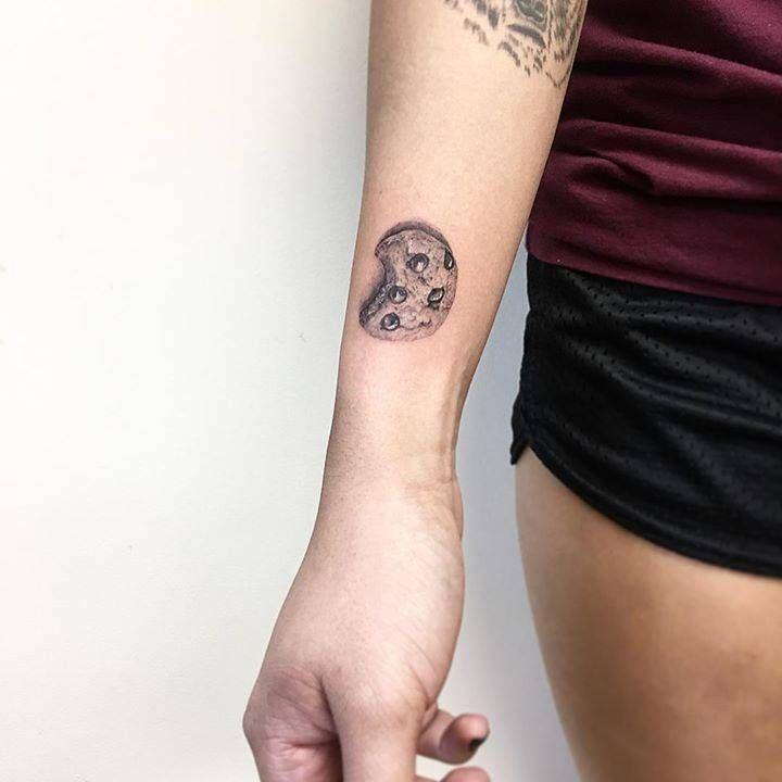Cookie tattoo on the wrist small tattoos tattoos