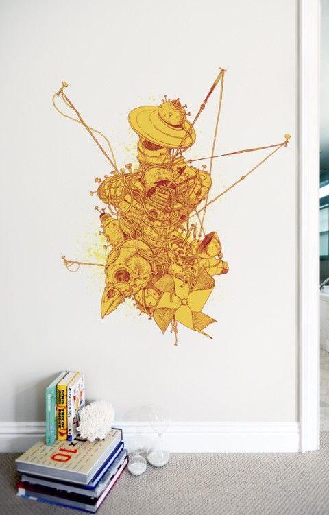 A host of fetishes 55 blik 2011 releases pinterest wall decals wall sticker and walls - Blik wall stickers ...