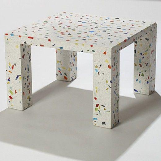 Contemporary Furniture Memphis: Nara Table By Shiro Kuramata