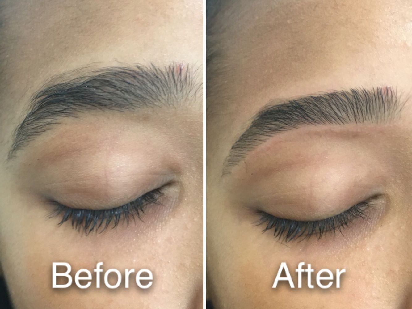 Amazing Shape With Just Eyebrow Threading By Prital Eyebrow