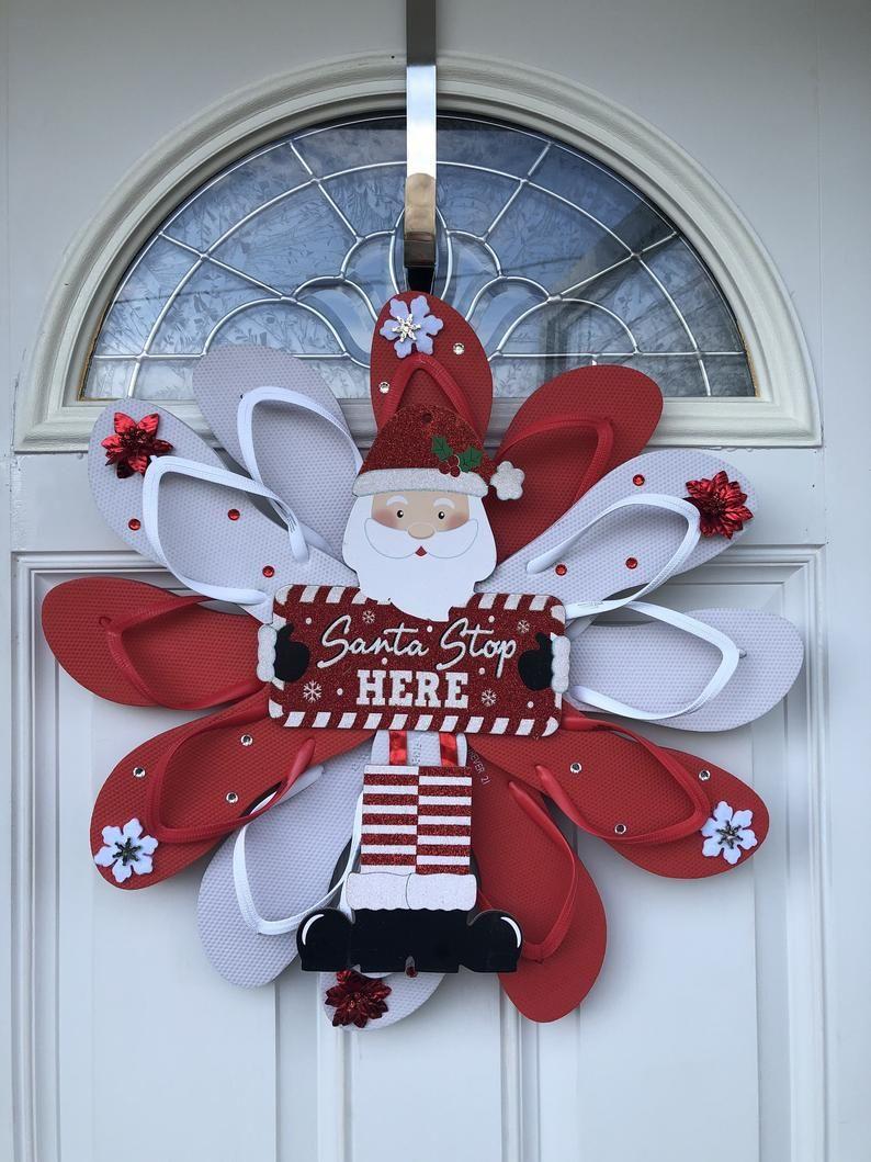 Christmas Wreath Christmas Gifts Door Decor Beach
