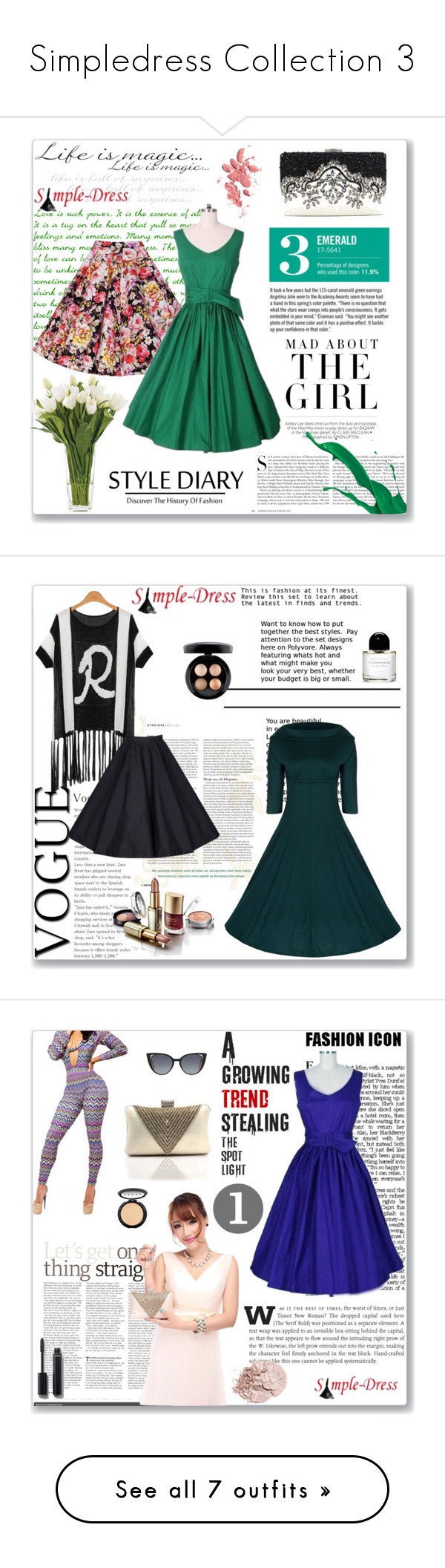 """""""Simpledress Collection 3"""" by meldin ❤ liked on Polyvore featuring simpledress, Kershaw, Garance Doré, NDI, Chanel, modern, vintage, MAC Cosmetics, LORAC and Fendi"""