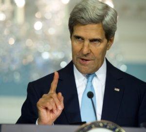 جان کری: اگر به سوریه پاسخ ندهیم ایران و حزبالله جسارت پیدا خواهند کرد